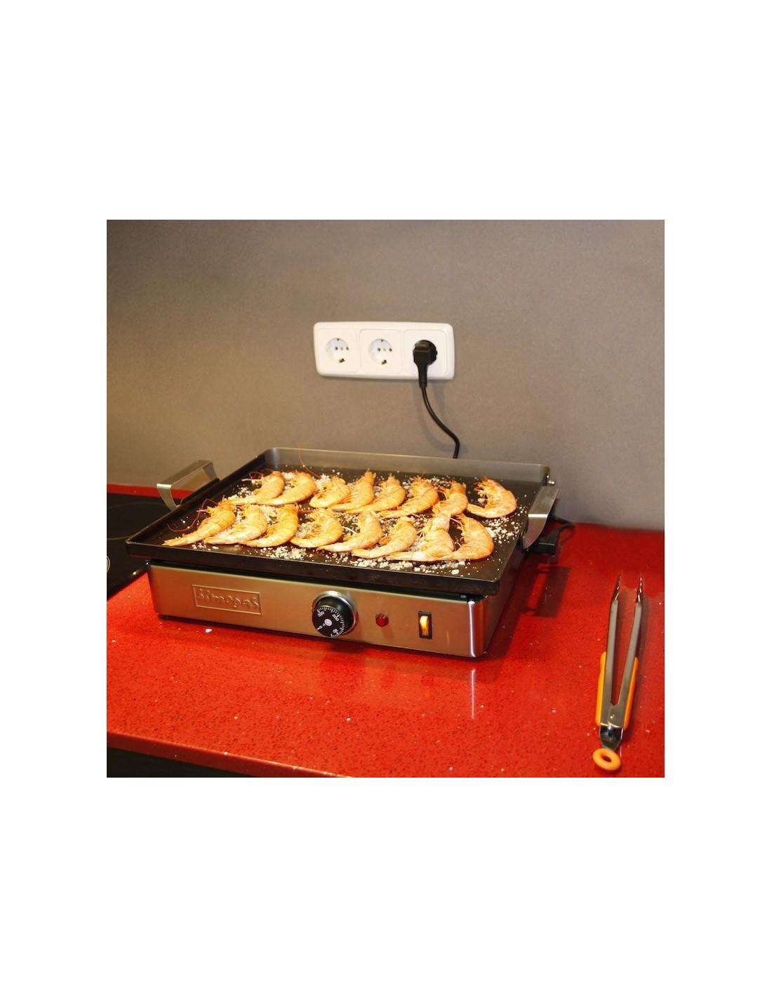 Plancha el ctrica dream dp45 acero simogas simogas - Planchas electricas cocina ...