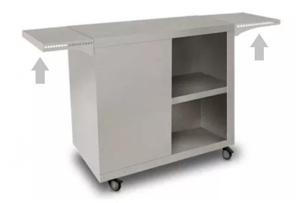 Side shelves for CI-SIM and CI-SIM-XL...