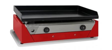 Plancha électrique Acier Laminé au Carbone RAINBOW RED