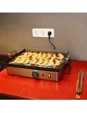 Plancha Eléctrica de cocina Dream