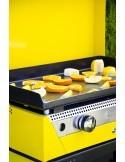Plancha RAINBOW Amarilla con carro y cubierta